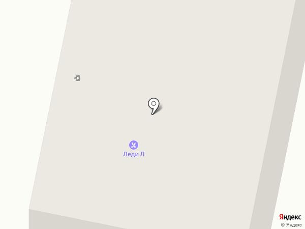Леди Л на карте Мегиона