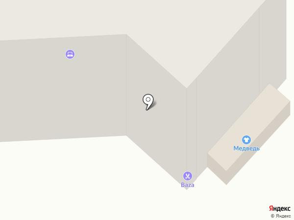 Медведь на карте Мегиона