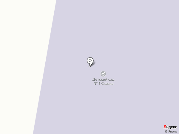 Детский сад №1 на карте Мегиона