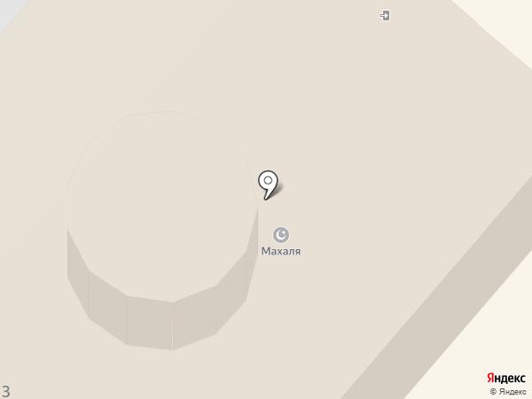Махалля №1 на карте Мегиона