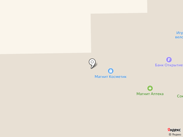 Банкомат, Газпромбанк на карте Мегиона