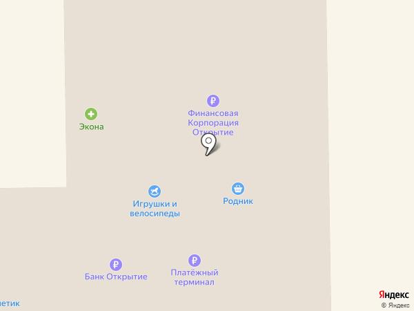 Северянка на карте Мегиона