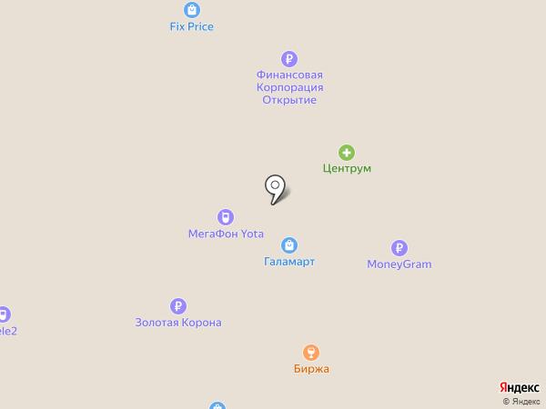 Банкомат, Банк УРАЛСИБ на карте Мегиона