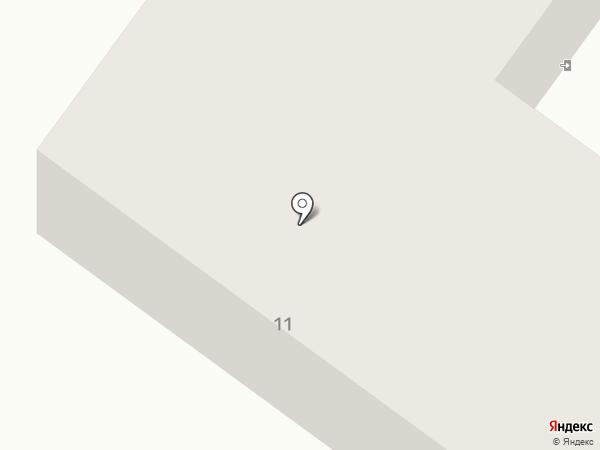 Общежитие на карте Мегиона