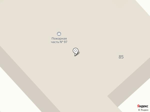 Пожарная часть №97 на карте Нижневартовска
