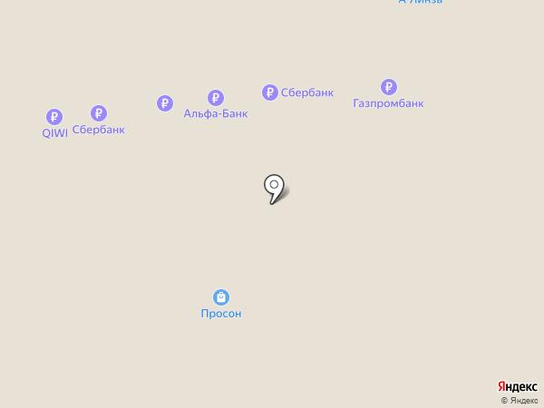Uvelina на карте Нижневартовска