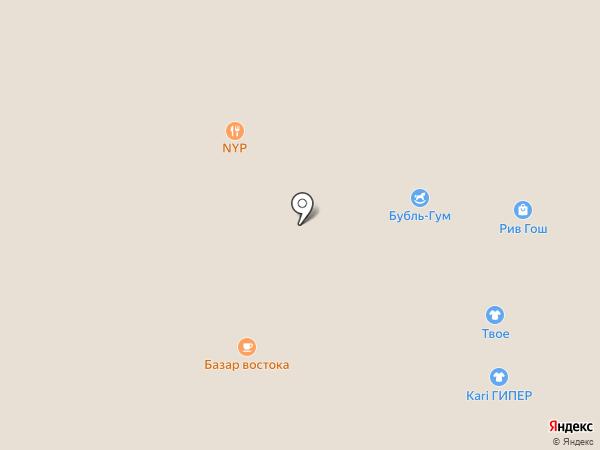 Subway на карте Нижневартовска