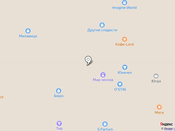 33 пингвина на карте Нижневартовска