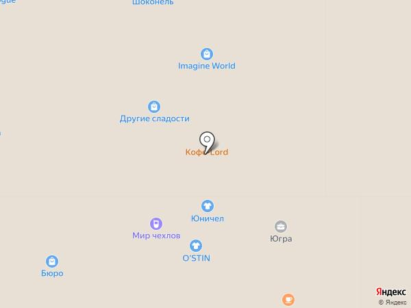 Киоск по продаже горячей кукурузы на карте Нижневартовска