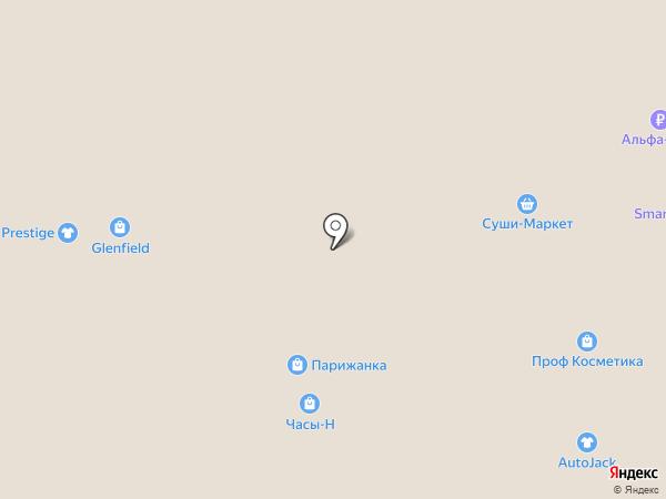 Часы-Н на карте Нижневартовска