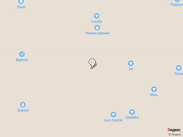 КвикиПарк на карте Нижневартовска