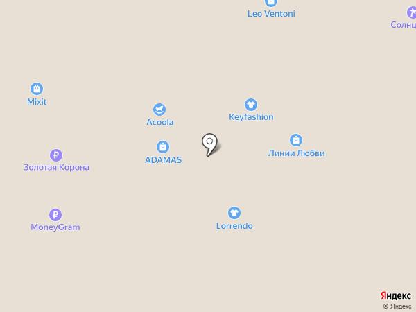 O`stin на карте Нижневартовска