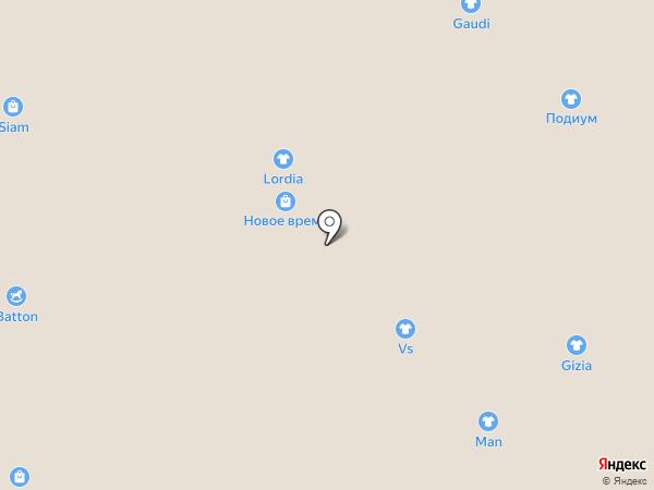 Два полюса на карте Нижневартовска