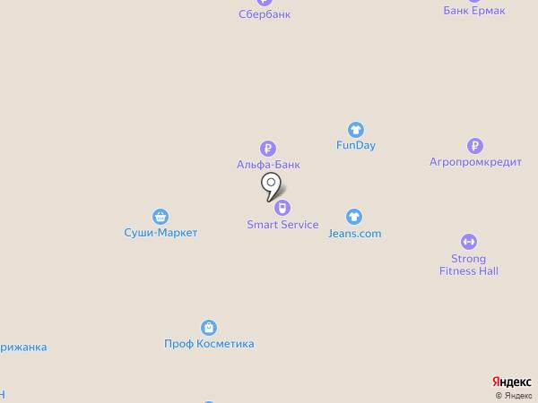STRONG Fitness Hall на карте Нижневартовска