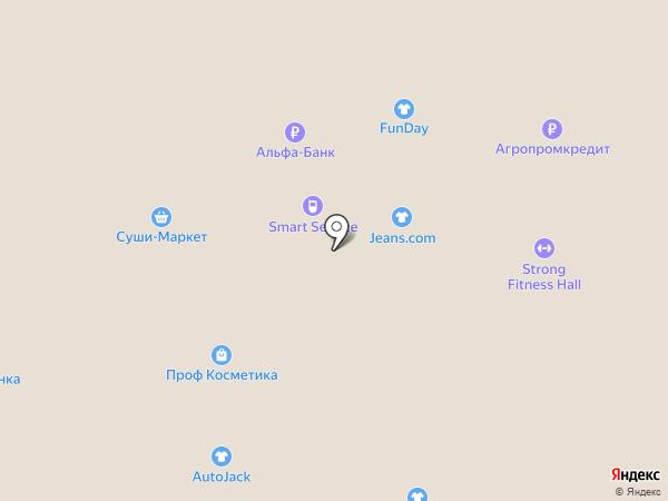 Кировская на карте Нижневартовска