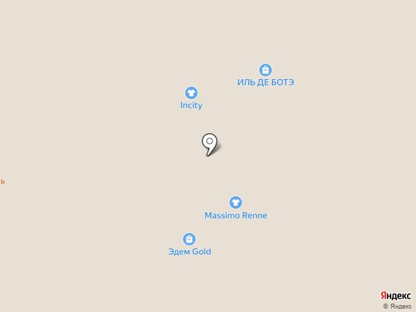 Ночь нежна на карте Нижневартовска