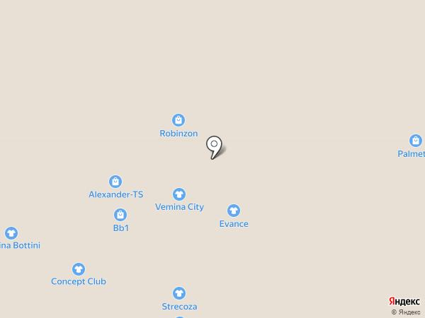 Strecoza на карте Нижневартовска