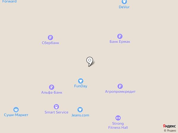 Gaudi на карте Нижневартовска