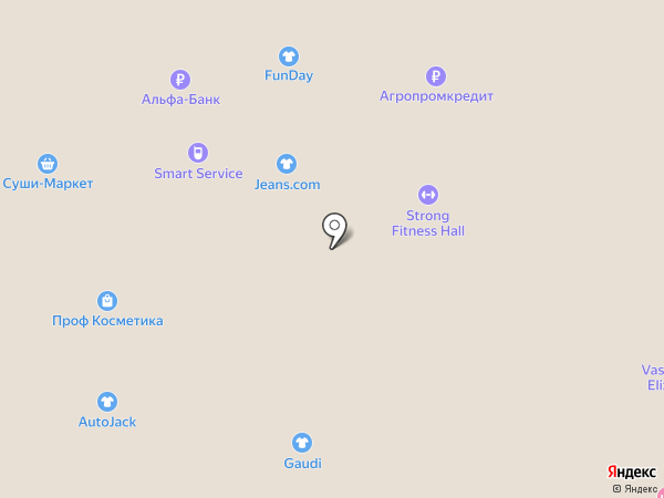 Strellson на карте Нижневартовска