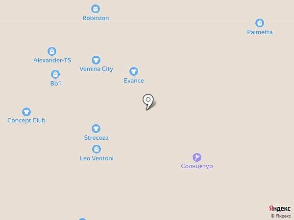 Charmante на карте Нижневартовска