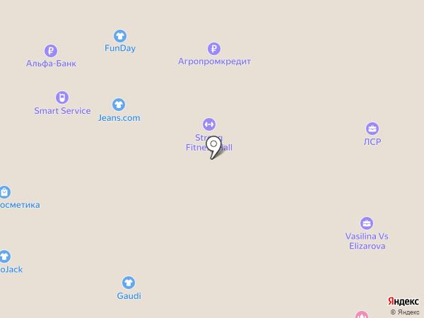 Подиум арт на карте Нижневартовска