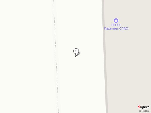 Гемма на карте Нижневартовска
