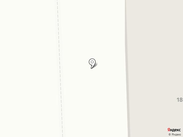 Аверс на карте Нижневартовска