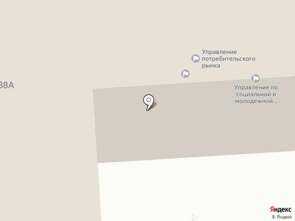 Департамент финансов администрации г. Нижневартовска на карте Нижневартовска