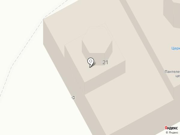Храм Великомученика и Целителя Пантелеимона на карте Нижневартовска