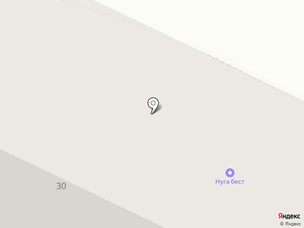 Нуга Бест на карте Нижневартовска