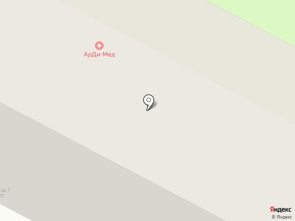 Permanent на карте Нижневартовска