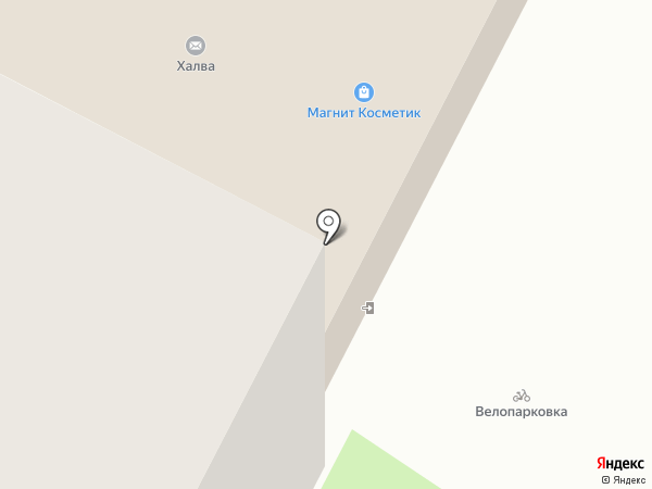 Восток на карте Нижневартовска