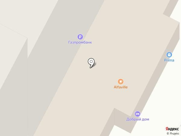 Добрый дом-центр на карте Нижневартовска