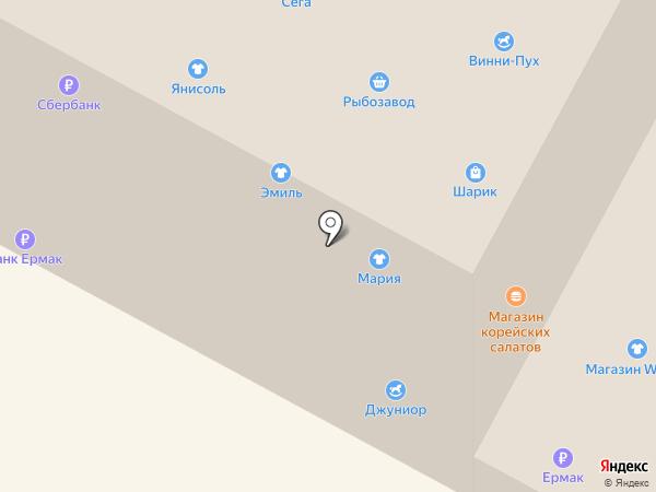 Ломбард Интер на карте Нижневартовска