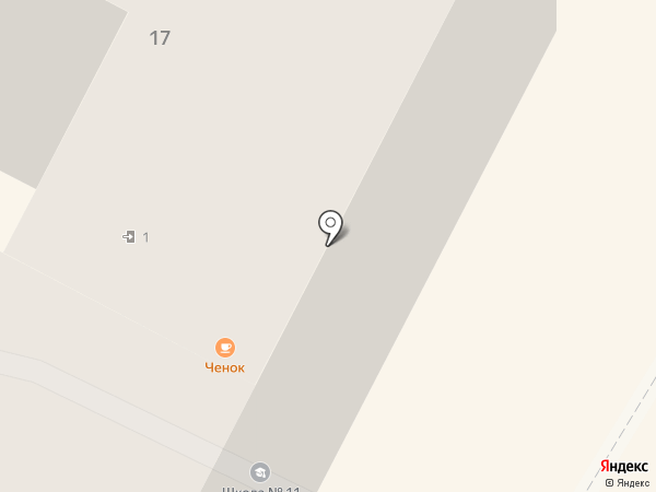 Чеснок на карте Нижневартовска