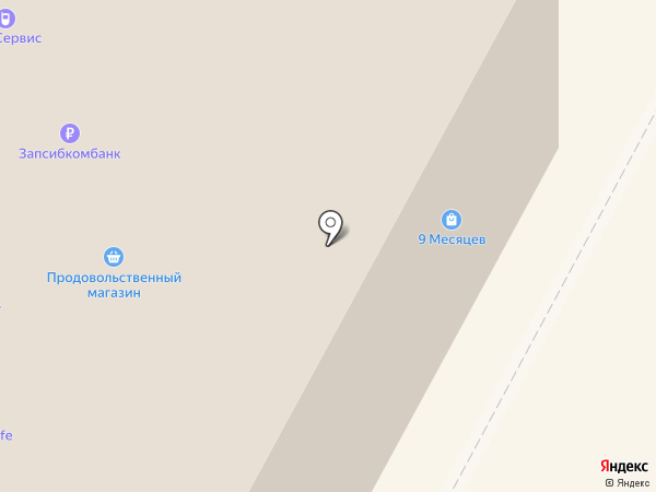 Ксюша на карте Нижневартовска