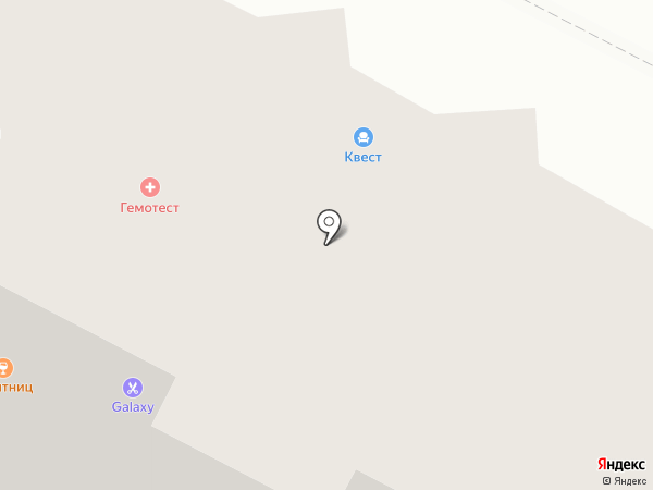 Краббери на карте Нижневартовска