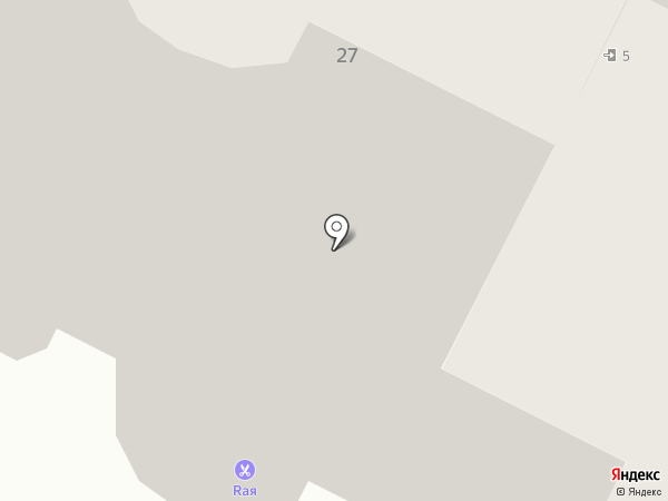 Детский дворик на карте Нижневартовска