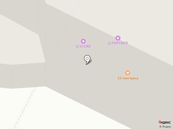 Утенок на карте Нижневартовска