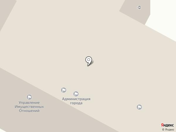 Администрация г. Нижневартовска на карте Нижневартовска