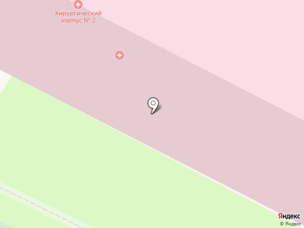 Нижневартовская окружная клиническая больница, БУ на карте Нижневартовска