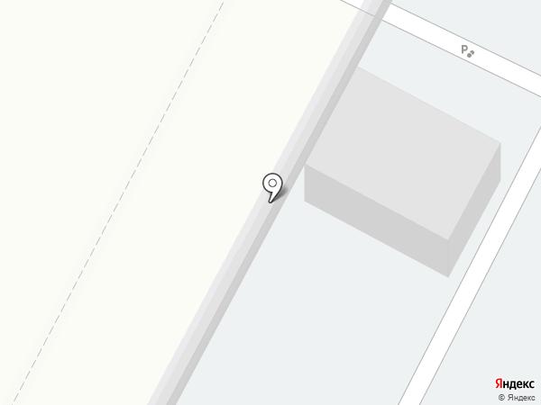 Автостоянка на карте Нижневартовска