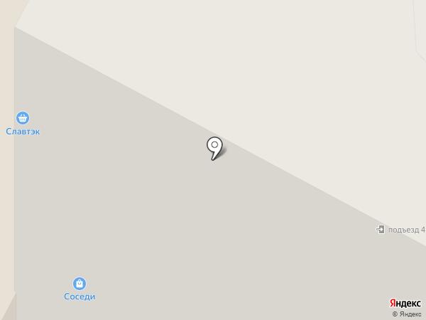 Большой шарик на карте Нижневартовска