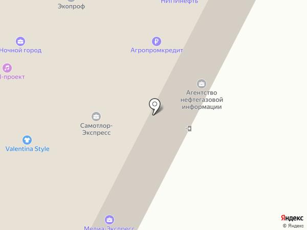 Продуктовый магазин на карте Нижневартовска