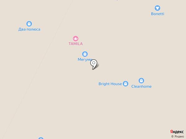 Gloria Jeans на карте Нижневартовска