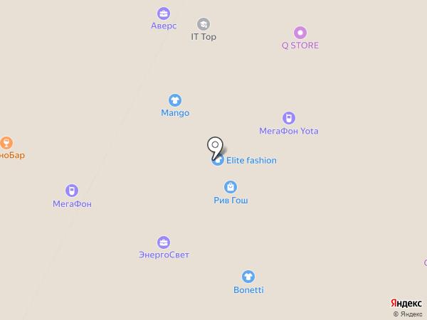 Reflex на карте Нижневартовска