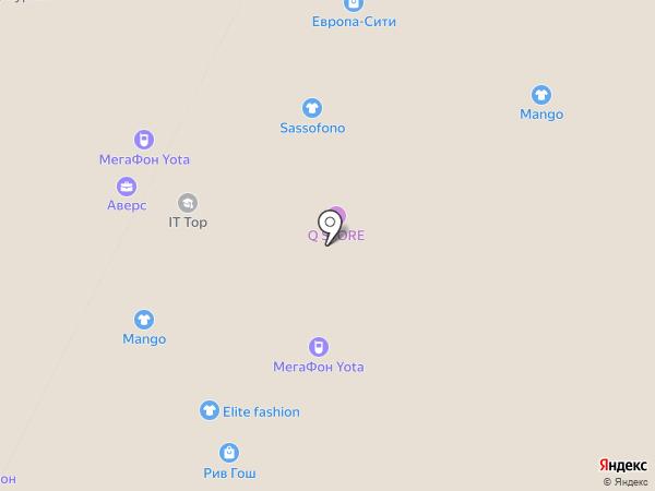 Columbia на карте Нижневартовска