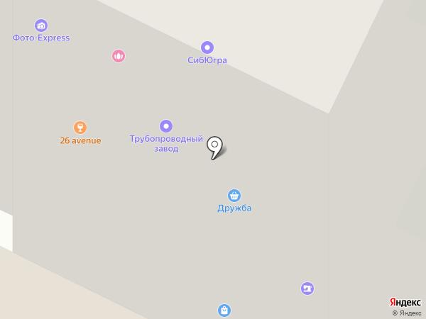 Маяк на карте Нижневартовска