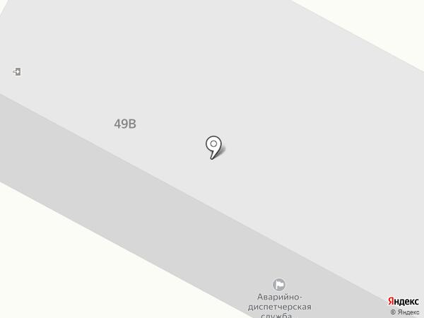 Аварийно-диспетчерская служба на карте Нижневартовска