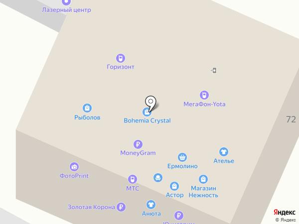 Рыболов-Нижневартовск на карте Нижневартовска